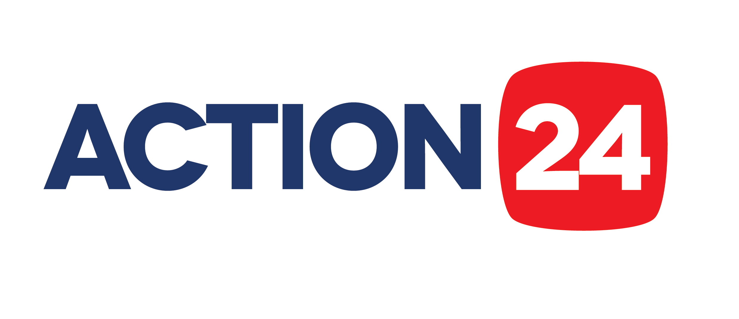 Action 24 Logo white